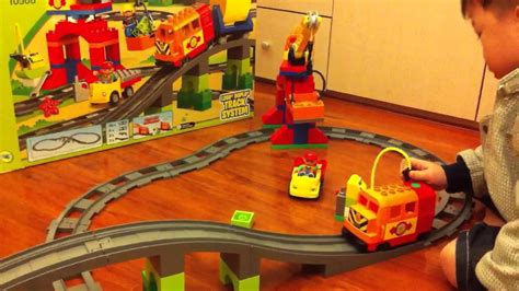 train table set for 2 year old duplo deluxe train set 10508 for 2 5 years old youtube