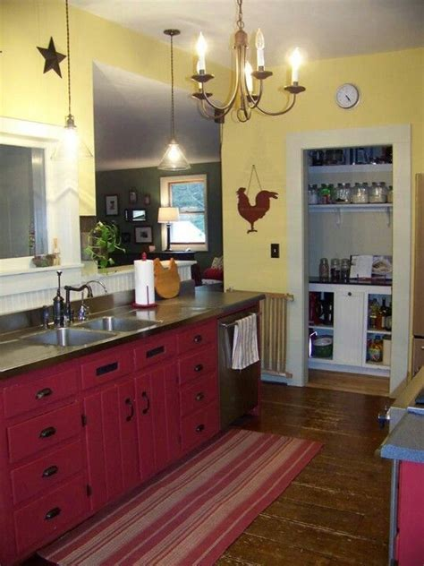 country kitchen how does this family kitchens house and kitchen