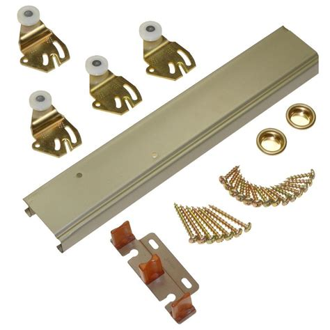 sliding door accessories johnson hardware 1166 series 48 in sliding bypass track 2316