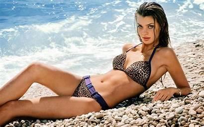 Bikini Catrin Claeson Summer Beaches Swimsuit Wet