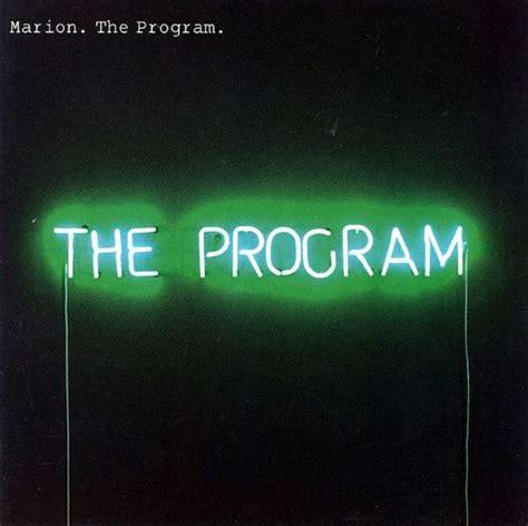 The Program - Marion | Songs, Reviews, Credits | AllMusic
