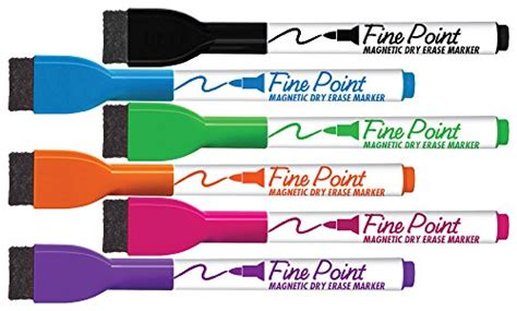 Board Dudes Srx Magnetic Dry Erase Markers 6-pack Assorted