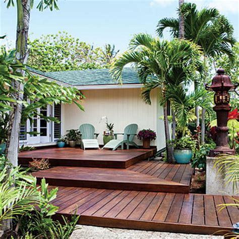 ideas   wood decking  patios  terraces
