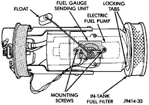 2005 Dodge Grand Caravan Fuel Filter Location by Dodge Caravan Questions Where Is The Fuel Sensor