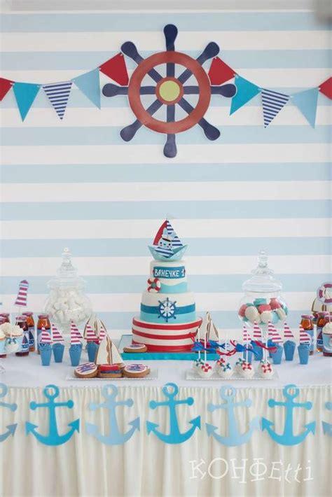 fiesta infantil tematica de marinero