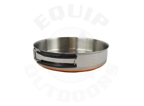 outer limits stainless steel fry pan
