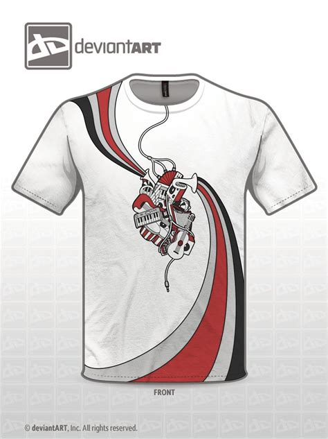 how to design a t shirt musically inspired t shirt design version 2 by saber2t on