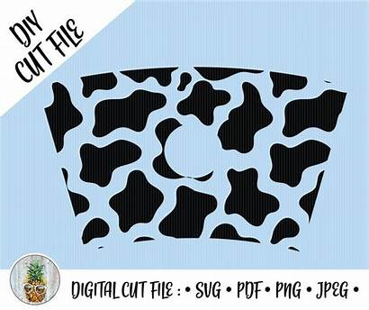 Starbucks Cup Svg Cold Cow Wrap Template