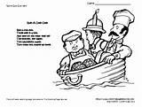Preschool Rhymes Nursery Wrap Themes sketch template