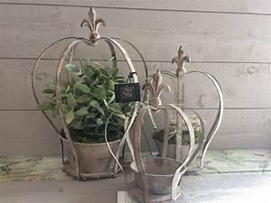 Fleur De Lys Plante : porte plante couronne fleur de lys curiosites by etadame ~ Melissatoandfro.com Idées de Décoration