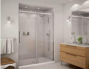 douche halo 6036 pour installation en alcove douches With porte de douche coulissante avec tabouret salle de bain alinea
