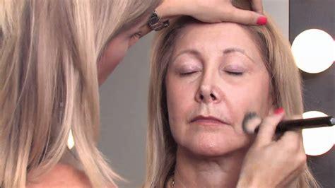 makeup tips  older women   apply makeup     minimize wrinkles youtube