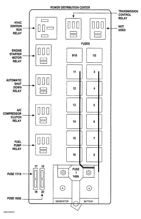 2012 ram 2500 fuse box wiring diagram