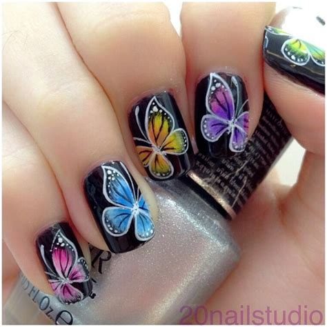 butterfly nail designs 16 breath taking butterfly nail designs pretty designs