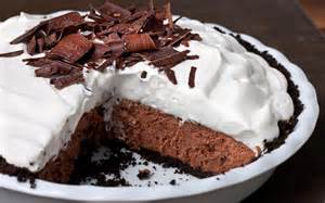 easy chocolate pie recipes chocolate mousse pie recipe chowhound