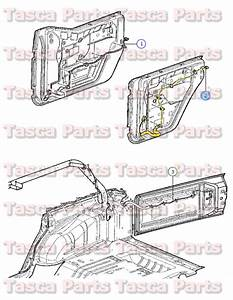 New Oem Right Side Rear Door Panel Wiring Harness 2013