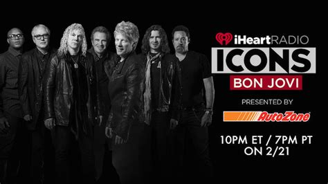 How Stream The Intimate Iheartradio Icons With Bon Jovi