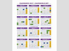 Calendario laboral 2017 Festivos nacionales 2017 España