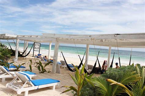 Tulum Beach Clubs Travel Yucatan