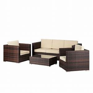 Lounge Set 3 Teilig : polyrattan lounge preisvergleich die besten angebote online kaufen ~ Bigdaddyawards.com Haus und Dekorationen