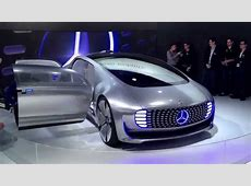 Self driving Mercedes F015 autonomous prototype at CES