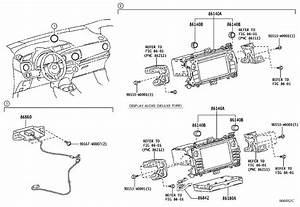 Toyota Yaris Tuner Assembly  Stereo Component  Entune