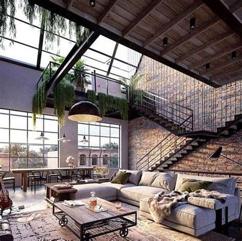 magnifique inspiration de loft industriel  design