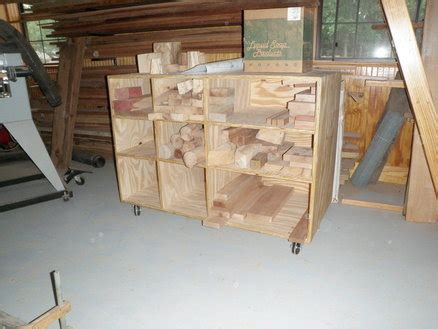 cut  storage cart  schwieb  lumberjockscom
