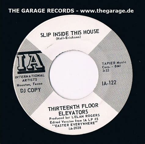 Thirteenth Floor Elevators Slip Inside This House by 1000 Images About 13th Floor Elevators 45 Rpm Ep On
