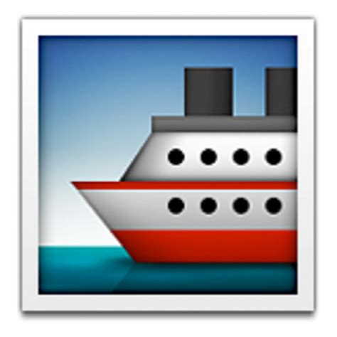 Ferry Boat Emoji by Iphone Boat Emoji Images Search
