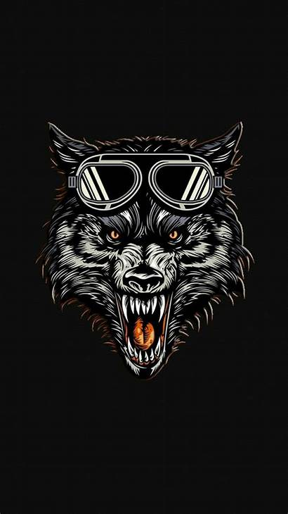 Wolf Hungry Iphone Wallpapers Iphoneswallpapers Minimal Iphones