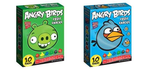 angry birds fruit snacks gummies