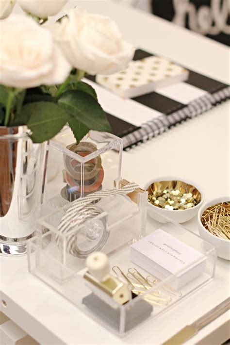 elegant office desk accessories office glam d luxe designs