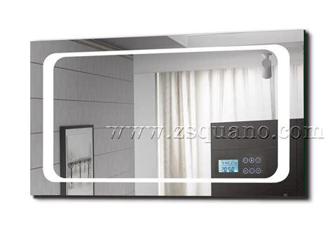 mp3 salle de bain intelligent mp3 salle de bains miroir avec led lumi 232 re et