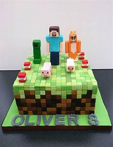 Image Gallery minecraft cake