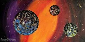 » Far Away Planets Paintings by Melinda