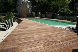 parquets pour piscines revetement de sol en bois With parquet pour piscine