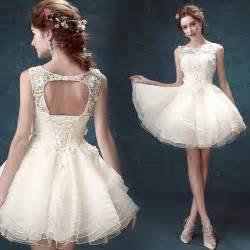 aliexpresscom buy fashion 2016 white short ball gown With cute short white wedding dresses