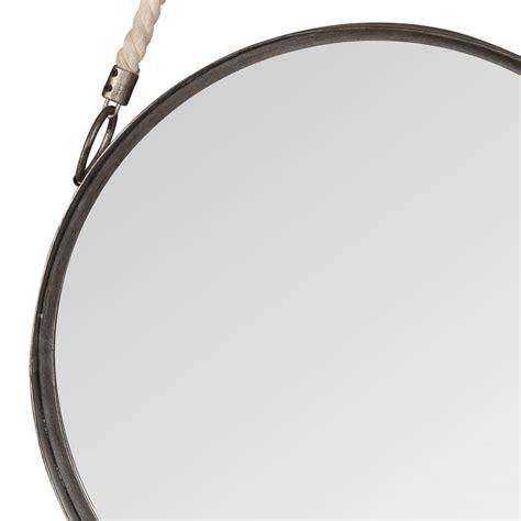 Spiegel Aufhängen by Runder Spiegel Zum Aufh 228 Ngen Aus Metall Mit Seil D40