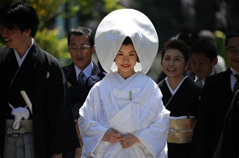 Traditional Japanese Wedding Suit by Aka Tombo Millinery Japanese Weddings A Change Is Coming
