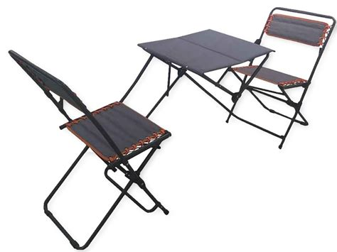 Portable Bistro Set Folding Picnic Table And Chairs Patio