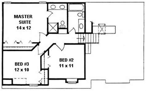 quad level house plans level home plans home design and style