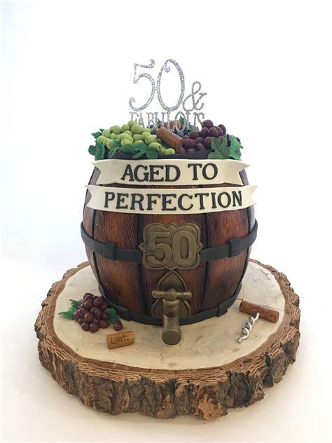 wine barrel  birthday cake cakes birthday cake