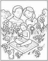 Parents Coloring Craft Obeying Activities Prayer Colouring sketch template