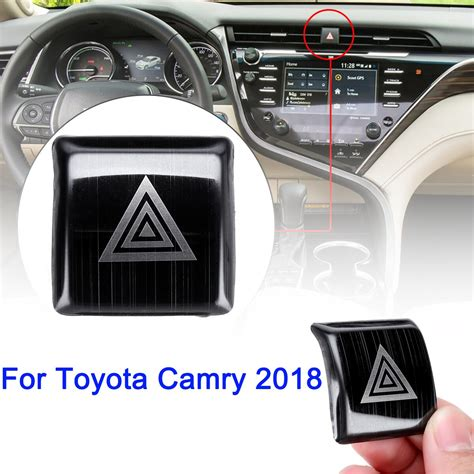 transmission control 1996 toyota camry interior lighting stainless steel stainless lndoor emergency light switch decor cover trim for toyota camry 2018