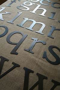 metal letters crafts pinterest With metal craft letters