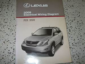 2009 Lexus Rx350 Rx 350 Electrical Wiring Diagram Service