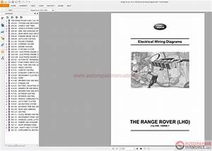 Land Rover Range Rover 2013 L405 Electrical Wiring Diagram