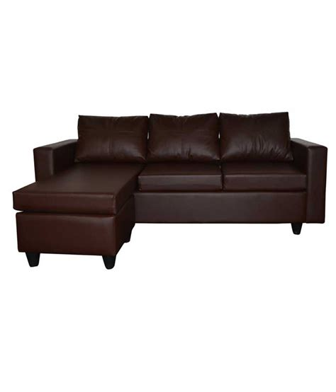 Deco L Prices by Furniture Deco L Shape Sofa In Brown Available At