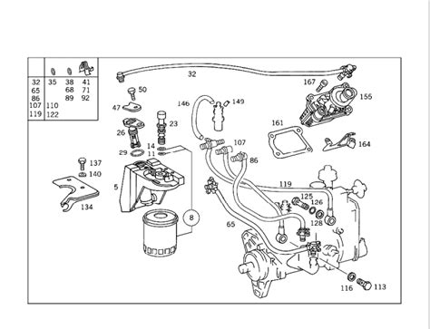 Mercede 220d Wiring Diagram by Air In Fuel Lines Retrofit Kit Mbworld Org Forums
